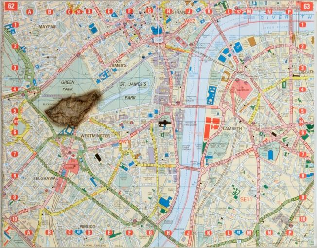 Meteorite Lands on Buckingham Palace by Cornelia Parker