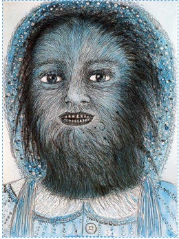 "Kiki Smith's ""Wolf Girl"""