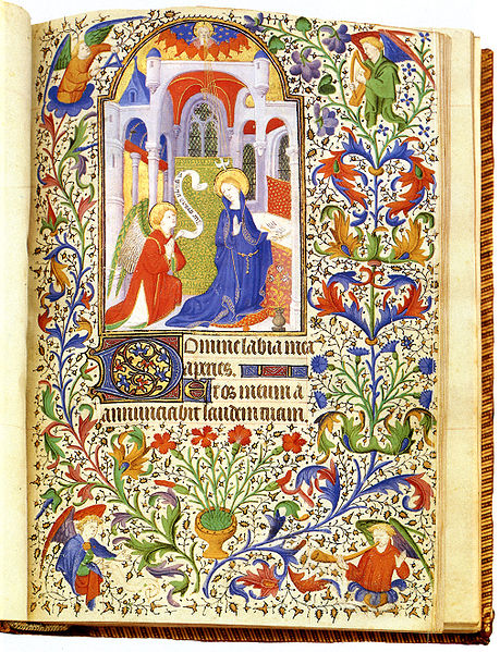 Hours of Jean de Boucicaut from wiki commons