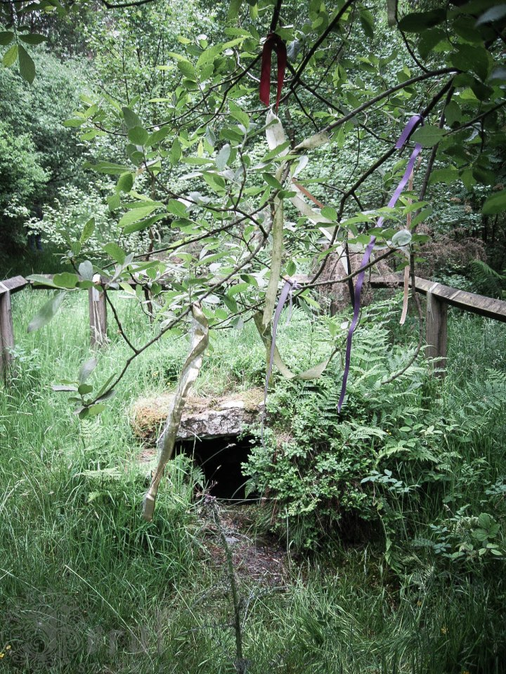 The Old Wive's Well at Stape.