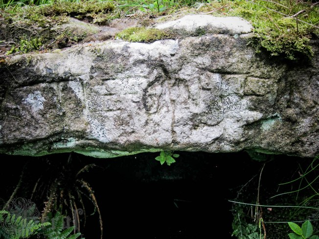 """Fons Natalis"" the mysterious inscription on this water shrine."