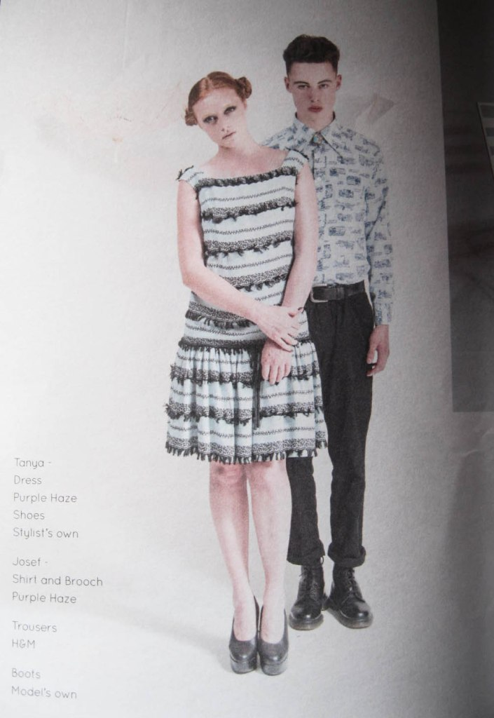 Lovely fashion spread from the Artisan issue of One&Other
