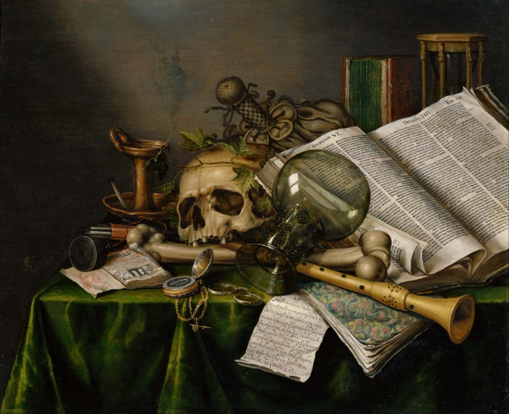Edwaert Collier, Vanitas. 1663