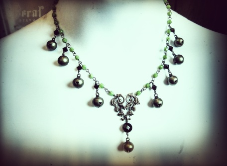 Brass Bells for a Goddess. My new Yule Design.
