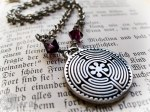Chartres Labyrinth Necklace, available in my online shop.