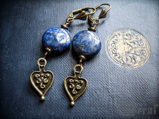 Ancient Hearts. Etruscan inspired design by Feral Strumpet