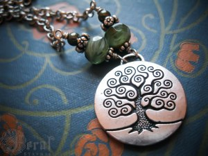 Tree of Life Necklace by Feral Strumpet.