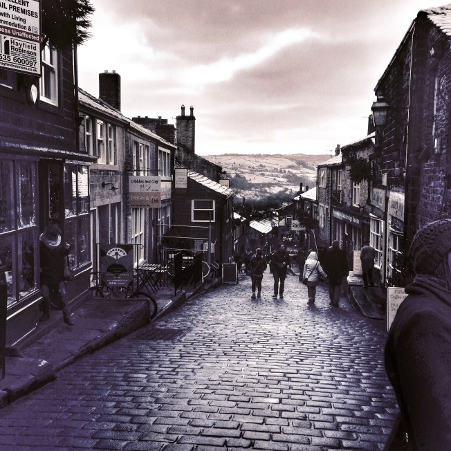 The village of Haworth, Bronte country.