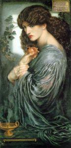 Proserpine by Rosetti
