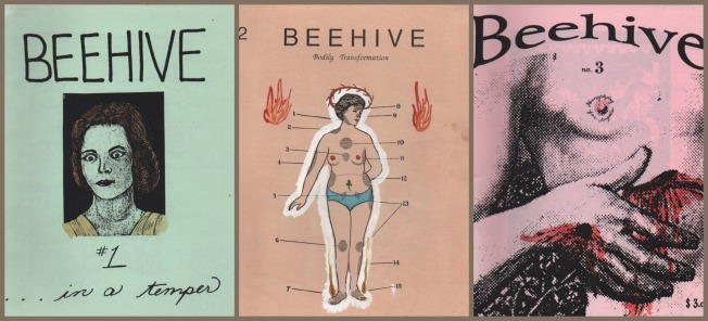 Beehive, the Zine I created in the 90s with artist Laura Splan.