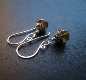 Kelpie Drop Earrings at feralstrumpet.co.uk