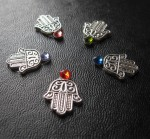 The Hamsa Bindi is available in many colours to compliment your costume.