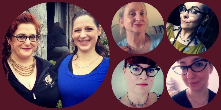 Just of few of the beautiful dancers who have sent my photos of them wearing their Flock of Birds necklaces!